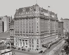 Willard Hotel. 1923 - Love this!!