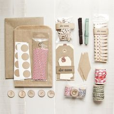 crafting supplies by olive manna