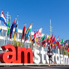 TCS Amsterdam Marathon - Contact us to book a trip there. www.fittotravelvacations.com
