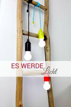 Cute Geniale alternative Lichtquellen ohne Strom Mit diesen Pull Lamps hast du berall Licht auch