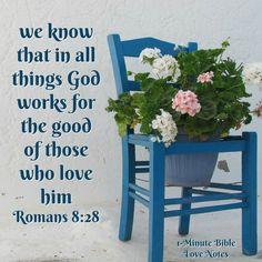 Bible Love, Love Notes, Gods Grace, Bible Scriptures, Faith Quotes, Romans 8 28, Church Ideas, Gratitude, Amen