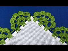 Thread Crochet, Crochet Trim, Crochet Doilies, Crochet Flowers, Crochet Lace, Crochet Stitches, Beginner Crochet Projects, Sewing Projects, Crochet Border Patterns