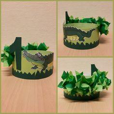 Krokodillen hoed, 1 jaar Planter Pots, Birthday Parties, Diy Crafts, Party, Kids, Gift, Birthday, Gifts, Birthday Celebrations