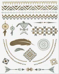 Phoenix Pack Metallic Flash Tattoo