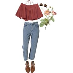 desert rose by chickpeabb on Polyvore featuring ASOS, GUESS, Cartier and Usagi