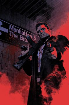 The Punisher by Greg Smallwood