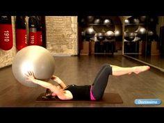 Abdos en beton : exercices Swiss ball