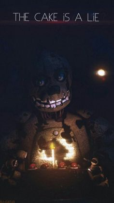 The cake is just a lie it's not real Five Nights At Freddy's, Freddy S, Fnaf Wallpapers, William Afton, Fnaf Sister Location, Fnaf Characters, Fnaf Drawings, Fan Art, Memes