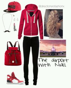 At the airport with niall outfit sweet