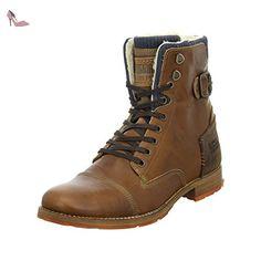 BULLBOXER 869k85850a, Bottes pour Homme - marron - marron, 43 - Chaussures  bullboxer (