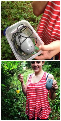 """""""Find the mouse"""", it said... ;) The mouse gets the cheese! #geocaching"""
