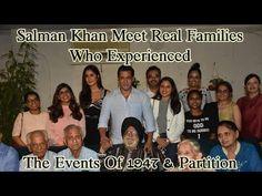 Salman Khan Meet Real Families Who Experienced The Events Of 1947 & Partition Ali Abbas Zafar, Top 10 News, National Film Awards, Indian Hindi, Real Family, English Actresses, Drama Film, Salman Khan
