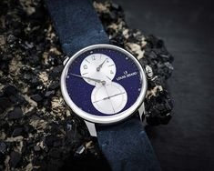 Louis Erard - Excellence Régulateur Aventurine, Lapis-Lazuli and Malachite | Time and Watches | The watch blog Watch Blog, Elegant Watches, Opaline, Malachite, Stainless Steel Case, Shades Of Green, Lapis Lazuli, Dress Watches, Social Media