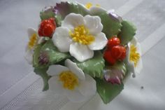 Your place to buy and sell all things handmade Christmas Rose, Rose Bouquet, Bone China, Tablescapes, December, Artisan, Porcelain, Hand Painted, Ethnic Recipes