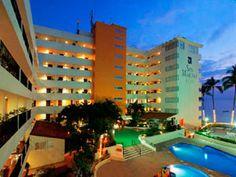 Hotel San Marino de moderna arquitectura en el Area Romántica de Puerto #Vallarta