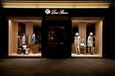 Loro Piana Windows 2015 Spring, Paris – France » Retail Design Blog