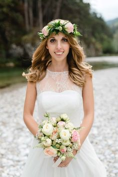 Brauthaarstyling, Bridal Hair, Boho Hair by www.feengleich-makeup.com  Photo: Marie Bleyer Fotografie