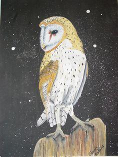 'Night Owl' by Shari Hoskins