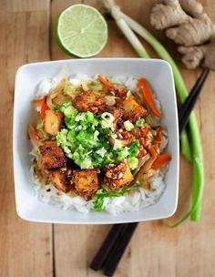 Pähkinäinen tofu