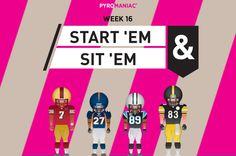Start 'Em & Sit 'Em for Week 16 Ems, Content, People, People Illustration, Folk