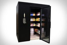 The ultimate walk-in beer-cooler for your man-cave
