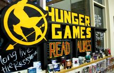 Hunger Games Read Alikes; this library rocks!