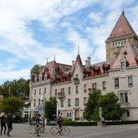 Lausanne - Hotel Chateau D'Ouchy #SWISSexperience