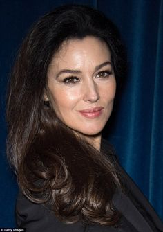 Monica Bellucci steps out in all black as she attends the 12th Marrakech International Film Festival | Mail Online