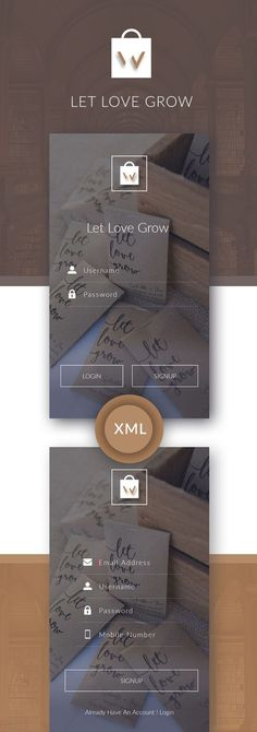 LOVE UI KIT, Processionally designed with clean UI Concept. Download XML files, ready to import in your android application project. Download Now: