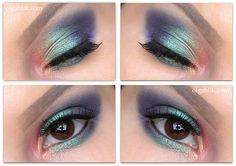 Urban Decay Vice4 Eyeshadow Palette Makeup Look