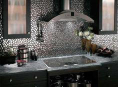 Mosaik Fliesen Küchenrückwand bunt gestalten Ideen | susi ...