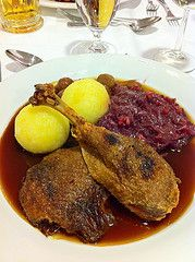<b>Traditional Roast Goose German Style</b>: A traditional roast goose recipe for St. Martin's Day