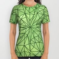 All Over Print Shirt featuring I Dream of Green by Megan Hillier
