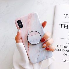 Marble Case For Iphone 8 7 Plus X 6 S Plus Case Fashion Grip Stand Holder Silicone Soft Phone Case For Iphone 7 Back Cover Coque Diy Iphone Case, Marble Iphone Case, Marble Case, Iphone Phone Cases, Pink Marble, Phone Charger, Iphone 11, Apple Iphone, Dreams