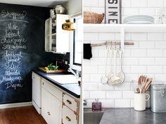Chalkboard In Kitchen, Subway Tile, Kitchen Kitchen Chalkboard Walls,  Kitchen Subway Tiles,