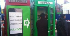 Solarbox in LONDON super nice idea