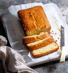 Honey Yogurt Lemon Syrup Cake so easy to make, beautiful and moist. Love this cake. Sweets Recipes, Baby Food Recipes, Cookie Recipes, Healthy Baby Food, Healthy Desserts, Healthy Recipes, Lemon Syrup Cake, Greek Desserts, Rice Desserts