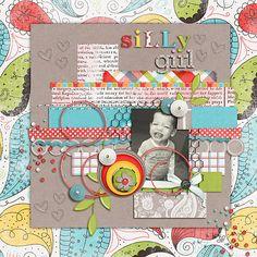silly girl - Scrapbook.com