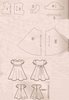 Esses moldes pode ser copiado, colado no word e imprimir. As medidas vai depender de cada criança. Pra quem não tem noção de costura. Acons...