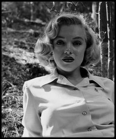1950 / Nouvelles photos de Marilyn Monroe par Edward CLARK, je crois enfin tenir la série complète, à voir sur le blog. Griffith Park. Rare.