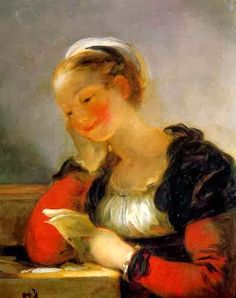 Fragonard, Jean-Honoré (1732-1806) The letter