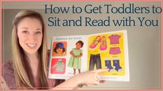 How to Get Toddlers to Sit and Read with You: Tips from a Speech Therapist