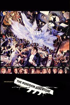 The Poseidon Adventure (1972) Poster Artwork - Gene Hackman, Ernest Borgnine, Red Buttons - http://www.movie-poster-artwork-finder.com/the-poseidon-adventure-1972-poster-artwork-gene-hackman-ernest-borgnine-red-buttons/
