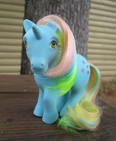 I was a HUGE My Little Pony fan!!! I can still remember the smell of them... weird, I know but just something that will always stick with me!