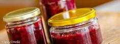 Chutney z červené řepy - Spicy Crumbs Chutney, Hummus, Mason Jars, Spicy, Cooking, Recipes, Food, Kitchen, Essen