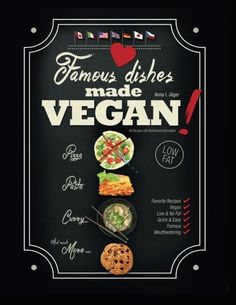 Famous Dishes Made VEGAN Your Favorite LowFat Vegan Cooking Recipes Quick  Easy LowFat Vegan Cooking Recipe Book Volume 1 * Be sure to check out this awesome product.