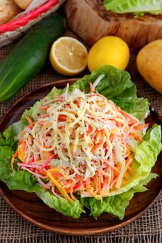 This quick and easy Kani Salad recipe is quite refreshing with sweet notes from ripe mangoes creamy Japanese mayo. Japanese Salad, Japanese Dishes, Japanese Meals, Japanese Recipes, Japanese Food, Kani Salad, Buko Salad, Ensaymada Recipe, Back Ribs In Oven