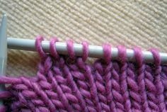 Excellent Knitting Tutorial - invisible short rows using yarn overs.