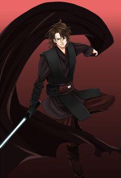 Anakin Skywalker manga version