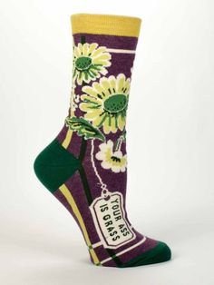 Your ass is grass.  #Socks. #funfashion